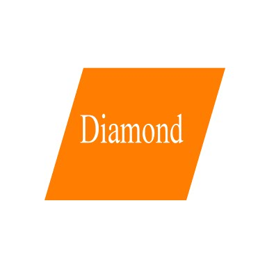 diamond, basic geometry