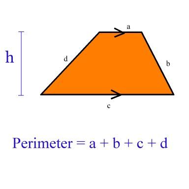 perimeter of trapezoid