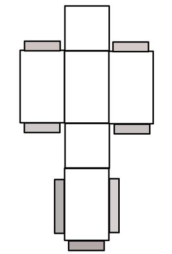 Rectangular Prism Net Prism, rectangular prism