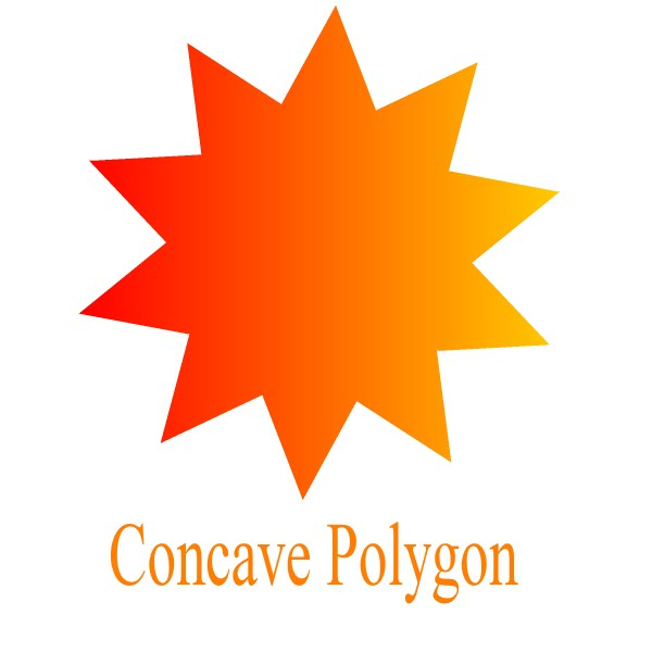 concave polygon