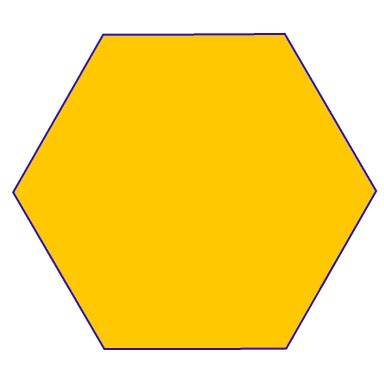 Hexagon Shape Hexagonal Prism - Everything