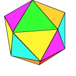 3d geometry, icosahedron