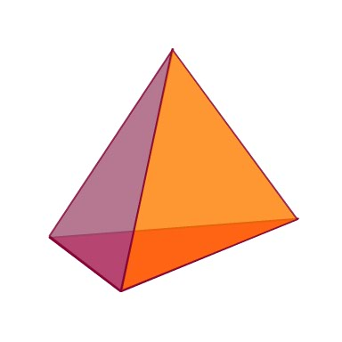 triangular pyramid