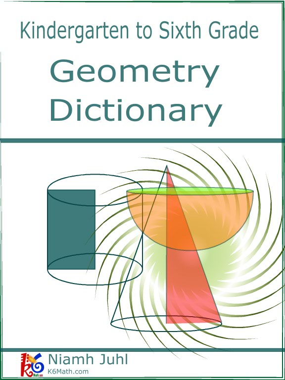A comprehensive list of Geometry Vocabulary for the K6 Math – Geometry Vocabulary Worksheets