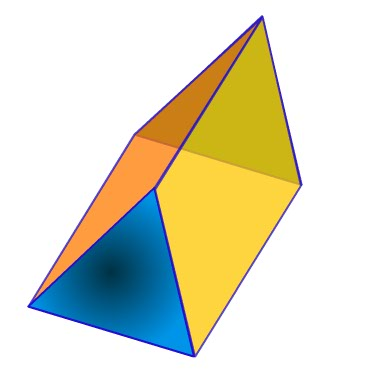 Prisms are the first introduction your child has to 3d geometry.